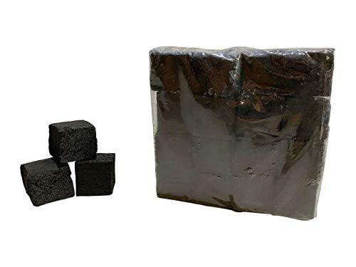 Coconut Charcoal®® Shisha Kohle | 20KG 64 Würfel in 1 KG Packung | Größe 26er Cubes | Premium Kokosnuss Naturkohle bis zu 120 Minuten Brenndauer