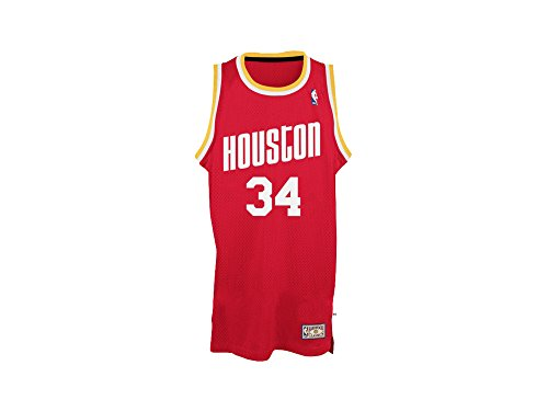 Tank Top adidas Swingman-Nba Houston Rockets Jersey Hakeem Olajuwon, color rojo, Rojo (rojo), S (Small)