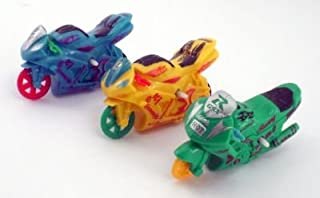 BOYS HAVE FUN TOYS Friction Toy Motorcycle One Random Color Piece