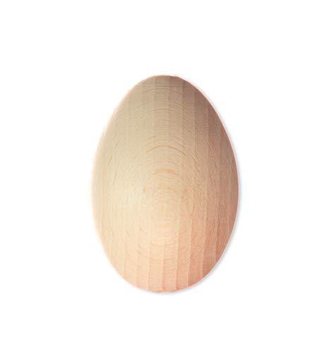 BigDean Stopfei Holz 6,5 cm - Aus Holz geschliffen - Für Socken-stopfen - Für Nähen