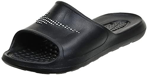Nike W VICTORI One SHWER Slide, Scarpe da Ginnastica Donna, Black/White-Black, 42 EU