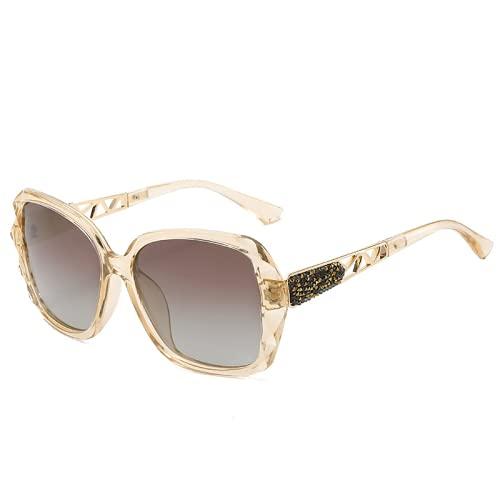 Gafas de sol, gafas de sol, gafas de sol, gafas de sol polarizadas para damas, gafas de sol de protección UV