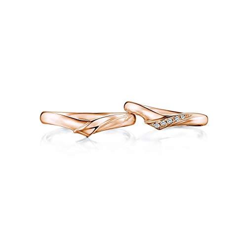 AnazoZ bijpassende paar ringen voor hem en haar sets 18K gouden diamant 0.12ct trouwband beloven ringen voor koppels