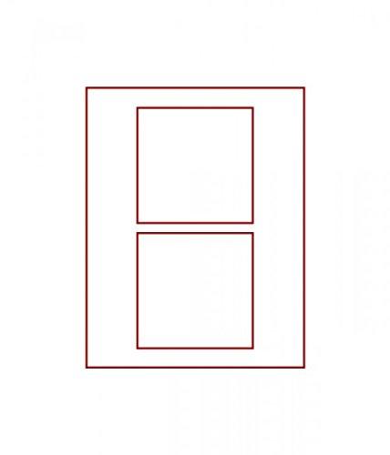 LINDNER Das Original d-Box FUMÉ à 2 alvéoles carrés 125 x 125 mm pour Monnaies/médailles ou Autres Objets de Collection