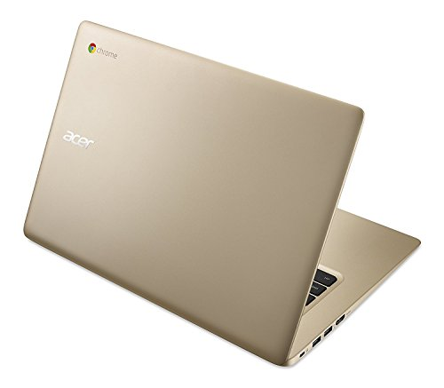 2018 Newest Acer Premium Business Flagship Chromebook PC 14' FHD 1920x1080 Display Intel Celeron Processor 4GB RAM 32GB eMMC Hard Drive 802.11AC HDMI Webcam Bluetooth 9 Hour Battery Chrome OS-Gold