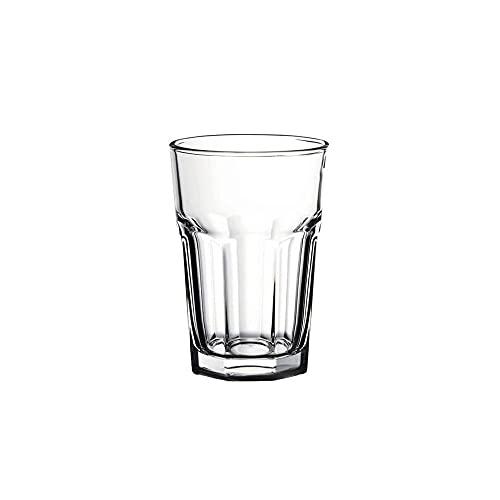 LA PORCELLANA BIANCA Juego de 6 vasos spritz OPEN Bar cristal 450 cc Ø8,8 H13 cm