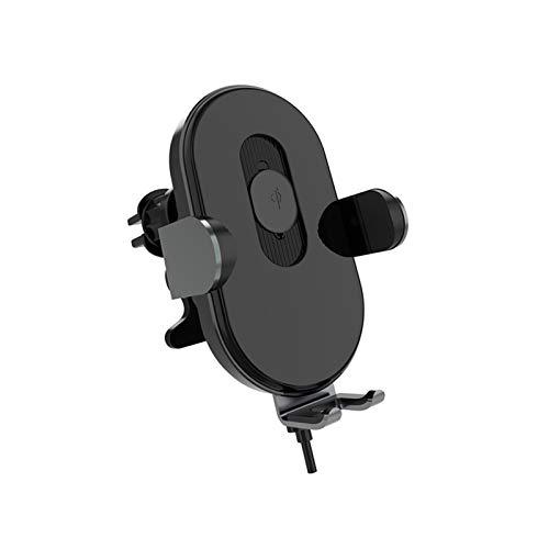 Topchences - Cargador inalámbrico para coche de 15 W, carga rápida, cargador de coche, cargador de teléfono móvil, soporte de coche con sujeción automática compatible con iPhone, Samsung Galaxy/Note