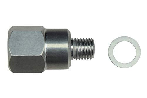 ICT Billet LS Engine Swap M12 1.5 Adapter to 3/8 NPT Coolant Temperature Sensor Water LS1 LSX LS3 LM7 LR4 LQ4 LS6 L59 LQ9 LM4 L33 LS2 LH6 L92 L76 551179