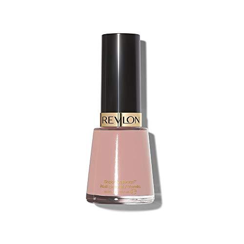 Revlon Nail Enamel, Chip Resistant Nail Polish, Glossy Shine Finish, in Nude/Brown, 165 Romantique, 0.5 oz