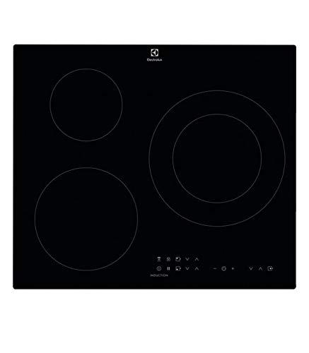 Electrolux EIT60336CK hobs Negro Integrado Con - Placa (Negro, Integrado, Con placa...