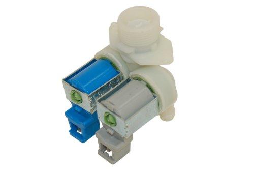 Ariston Creda Hotpoint Indesit Machine à laver Fagor Double remplissage solénoïde Valve. Véritable numéro de pièce c00201982