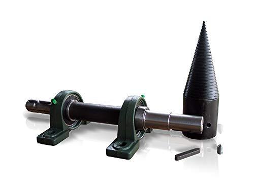 Satz zum Bauen eines Holzspalters mit Zapfwellenantrieb Kegelspalter, Drillkegel Ø80mm, Holzspalter, Bausatz mit Zapfwellenantrieb LT80