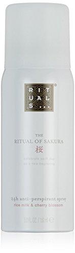 RITUALS The Ritual of Sakura Anti-Perspirant Spray Lait de Riz & Fleur de Cerisier, 150 ml