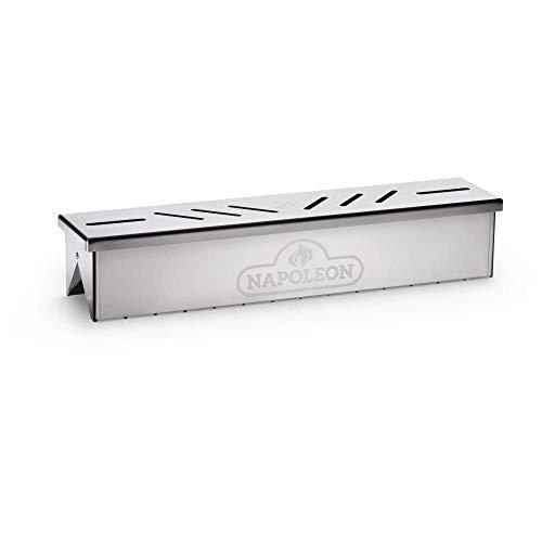 Napoleon Stainless Steel Smoker Box Grillzubehör, Edelstahl, 3,5