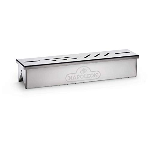 Napoleon 67013 Edelstahl Smoker Box Grillzubehör