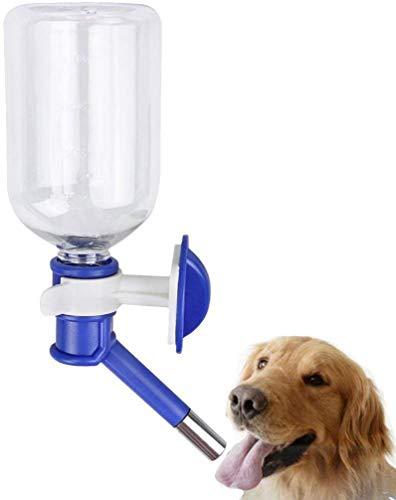 Tragbarer Wasserspender zum Aufhängen, 500 ml, für Katzen und Hunde, auslaufsicher, tropffrei, für kleine Tiere, Welpen, Kaninchen, Meerschweinchen, Hamster