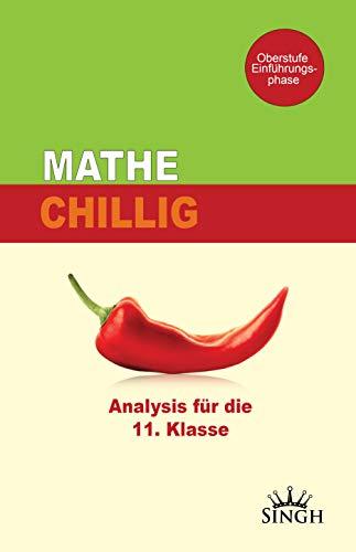 Mathe Chillig - Analysis für die gymnasiale Oberstufe oder das Abitur. Mathematik einfach erklärt für Schüler, Studium mit Aufgabenbeispielen, Klasse 10 11 12 G8 G9