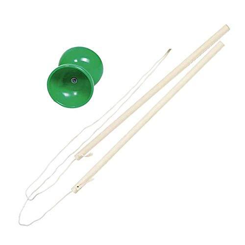 Stielreich Goki - Juego de diábolos para niños a partir de 6 años, color verde