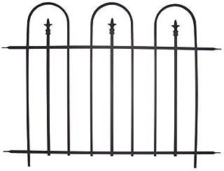 BestNest Panacea 87500 Triple Arch Garden Fence Sections, Set of 8