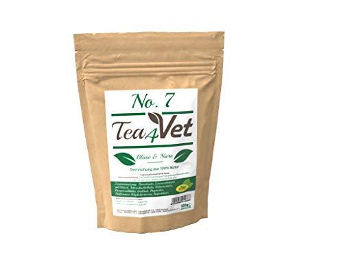 cdVet Natuurproducten Tea4Vet No 7 Blaas & niers 100 g - hond - theemengsel - nier- en blaasspoelend - met rozenboter + pepermunt + jeneverbes - 100% natuur -