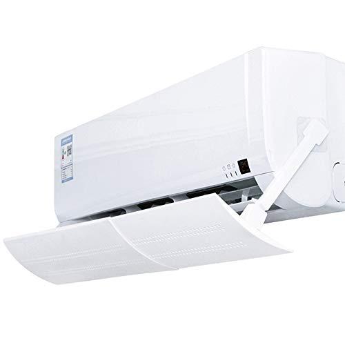 Deflettori d'aria a scomparsa per aria condizionata, regolabili, a soffietto, per casa, ufficio