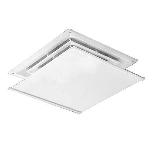 sxyp Air Conditioner Deflector For Ceiling Central Air Conditioning,Two Sizes For You To Choose From,Angle Adjustable,Easy Installation,Cloth + Stainless Steel Material