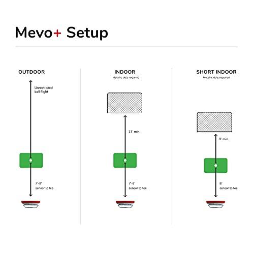FlightScope Mevo+ Tragbarer persönlicher Startmonitor und Simulator für Golf - 8