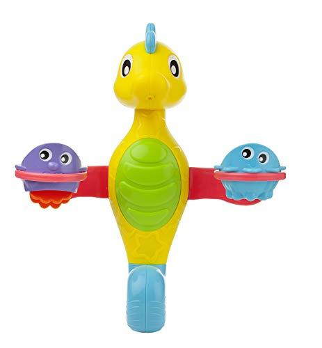 Playgro Badespielzeug Seepferdchen, Mit Wasserspritz-Funktion, Ab 12 Monaten, Mehrfarbig, 40188