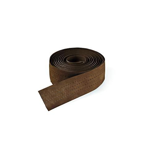 Selle Italia Unisex– Erwachsene Lenkerband Smootape Classica Leder Gel 2.5 mm Accessoires, brown leather, unisize
