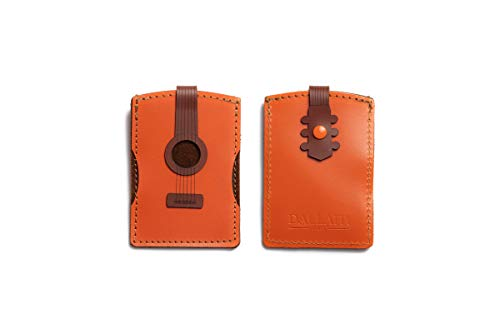 Dallaiti Design portemonnee Credito gitaar klassiek, vrouwen, bruin (bruin, 7 x 1 x 10 cm (B x H x L)