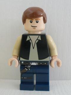 LEGO ® Star Wars ™ Han Solo mit Laserpistole Minifigur aus 7965