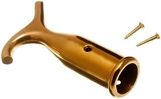Sash Window Blind Pole Hook Polished Solid Brass