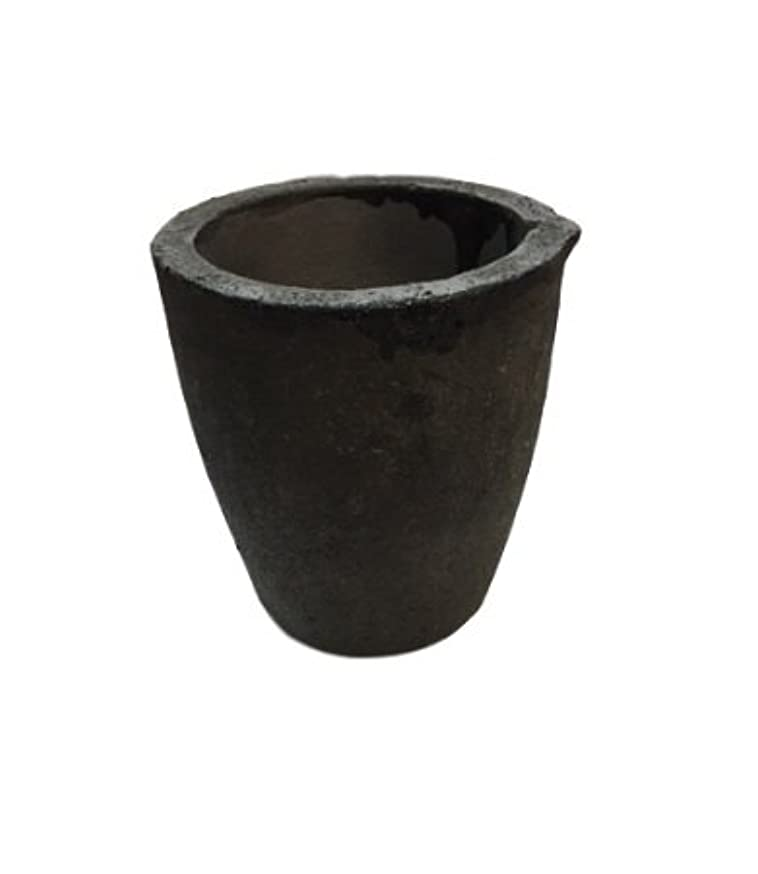 #4-8 Kg Foundry Clay Graphite Crucibles Cup Furnace Torch Melting Casting Refining Gold Silver Copper Brass Aluminum