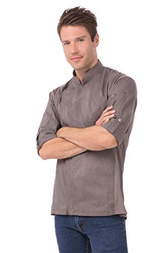 100 cotton chef coat men - 7