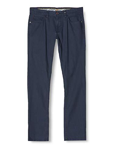 Camel Active Herren 5-Pocket Houston Straight Jeans, Blau (Blue 42), W40/L32 (Herstellergröße: 40/32)