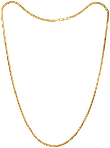 Handicraft Kottage ® Latest and Stylish Gold Plated 22K Chain for Men, Women ragular or Daily were (24 inch)