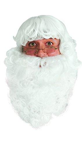 Rubie's-déguisement officiel - Rubie's- Accessoire De Déguisement Barbe De Père Noel- Taille adulte- P16002073
