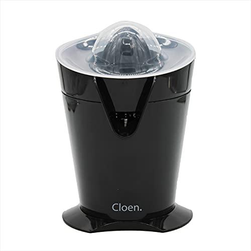 Exprimidor de Naranjas | Apto para lavavajillas | Filtro incorporado | Fácil de usar | 40 W de potencia | Diseño compacto | Fácil de guardar| Exprimidor de Zumo Cloen Citrus |