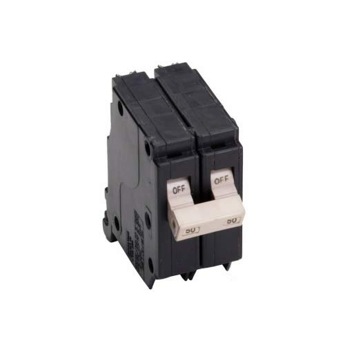 Cutler-Hammer CH250 Type CH Circuit Breaker, 120/240 VAC, 50 A, 10 kA, 2 Poles, Thermal Magnetic Trip