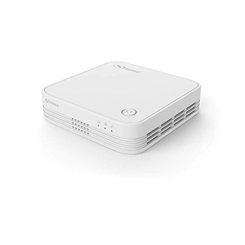 STRONG WiFi Mesh 1200 Add-On Repeater (WLAN Verstärker bis 1200 Mbit/s, 100 m², Dual Band, 3X Gigabit LAN) schwarz MESH1200ADD