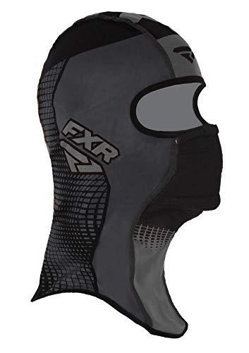 FXR Shredder Tech Anti-Fog Balaclava Lightweight Wind-Stop Cold Weather Gear - Black Ops - Large