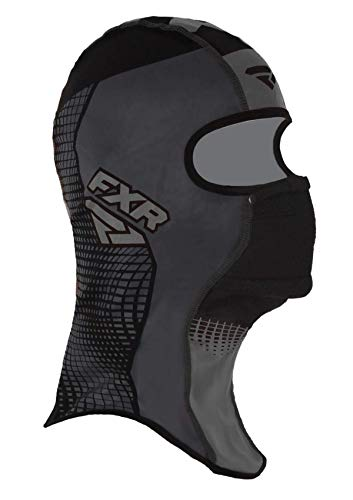 FXR Shredder Tech Anti-Fog Balaclava Lightweight Wind-Stop Cold Weather Gear - Black Ops - Large