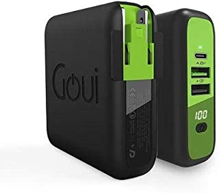 GOUI MBaLa Qi 3 in 1, Power Bank 8000 mah Wireless Charger 10W, with PD and QC technology