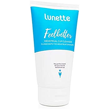 Lunette Feelbetter Menstrual Cup Cleanser 5 fl oz - Perfect Match for Your Silicone Menstrual Cup - Vegan, Natural, No Parabens
