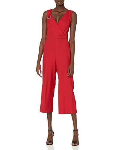 CATHERINE CATHERINE MALANDRINO Damen Luna Jumpsuit, Rot-Lipstick Red, 44