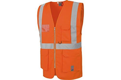 WÜRTH MODYF Gilet de Travail Haute visibilité Multipoches EN20471 Orange - Taille L/XL