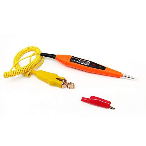 KKmoon Tester per Circuiti Elettrici DC2.5-32V Penna per Test di Tensione Induzione della Linea di Riparazione per Motore Batteria Linea Circuito Auto