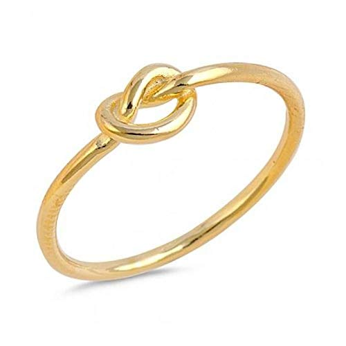 Sterling zilver Love Knoop Promise Ring