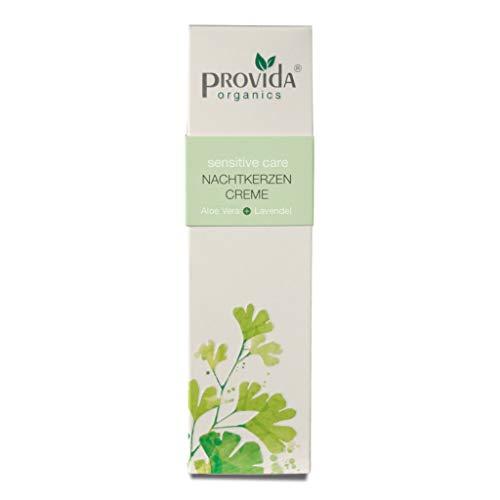 Natuurcosmetica zonder conserveringsmiddelen: Nachtkaarsen crème - Type dagcrème (Vegan)
