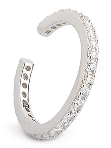 XENOX Ohrringe XS4213 Damen Ohrstecker Ear Cuff Ohrstulpe Silber 925 Silber